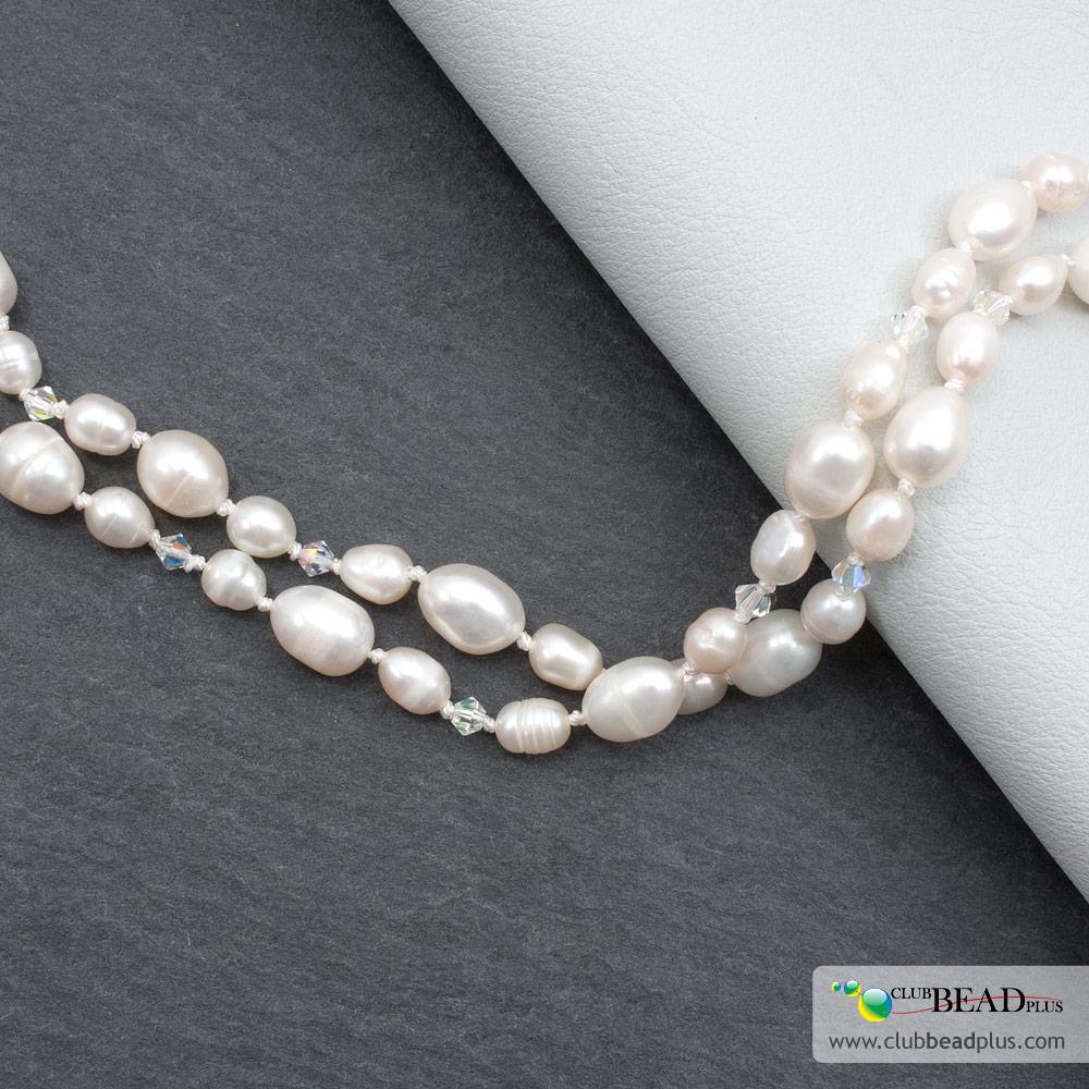 comment enfiler un collier de perles fines