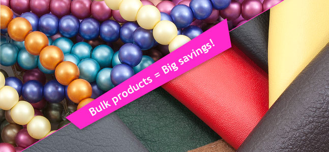 Bulk products=Big savings!