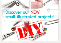 Here are small projects illustrated step by step. Fun guaranteed!