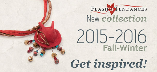 Our latest 2015/2016 Fall Winter Flash Tendances jewelry collection, stems from that inspiration.