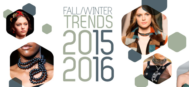 Trends Preview: You want to know the latest trend in the jewelry world? Browse through our 2015-2016 Fall Winter fashion trend booklet! Styles, colors, materials, types of jewel; everything is in there!